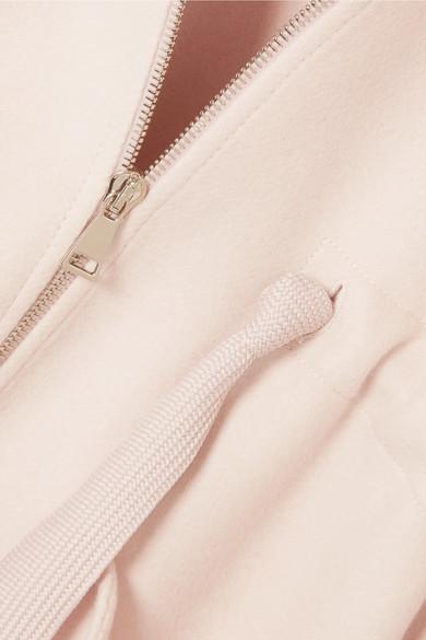 Billig Rabatt Suche Moncler Mantel aus Filz aus einer Wollmischung mit Shellbesatz und Kapuze Footaction Online m1Lhu