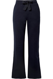 Moncler Cotton-jersey wide-leg pants