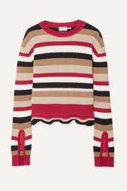 Moncler Striped cotton sweater