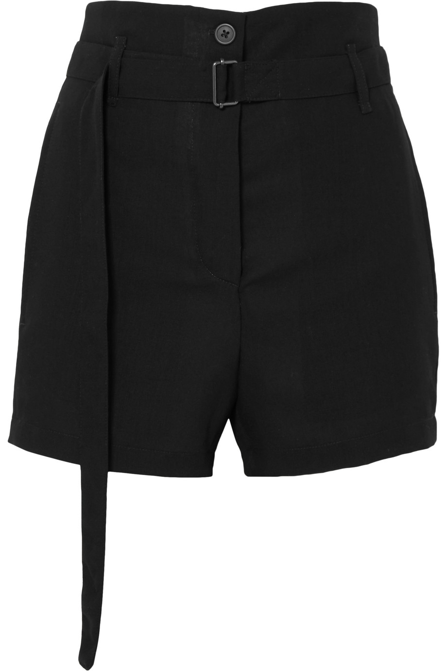 Ann Demeulemeester | Belted wool shorts | NET-A-PORTER.COM
