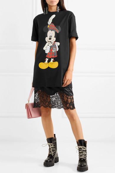 Christopher Kane T-Shirt aus Baumwoll-Jersey mit Print
