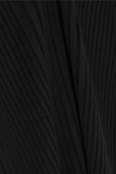 Maison Margiela Ribbed Turtleneck Uppers Of Wool