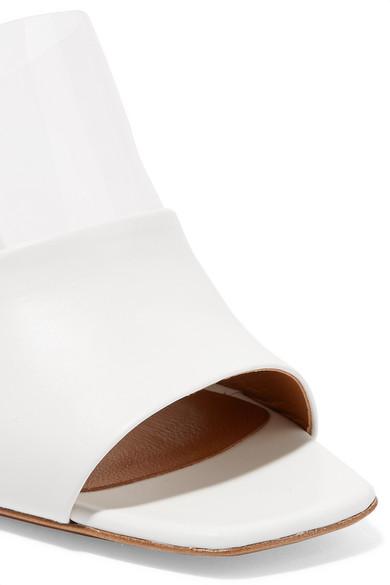 Klassisch Neous Benzi Mules aus Leder und Perspex® Freies Verschiffen Großhandelspreis 2018 Unisex nTL5CBK8o