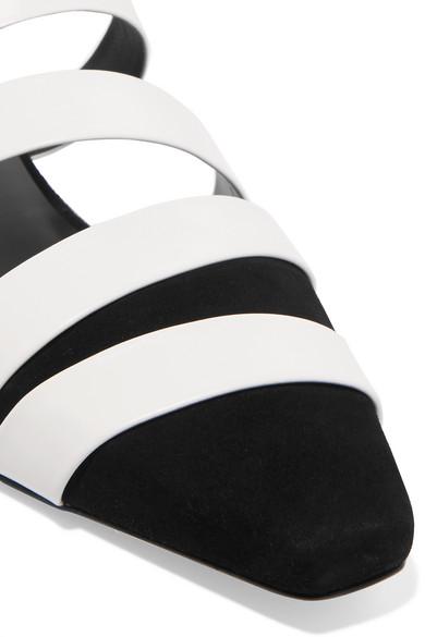 Neous Gosema Slippers aus Veloursleder und Leder Spielraum Kauf Qualitativ Hochwertige Online-Verkauf 100% Authentisch Niedriger Versand Zum Verkauf Verkauf Großer Diskont iQguI0zdo