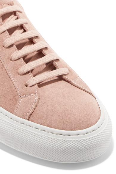 Common Projects Original Achilles Sneakers aus Veloursleder