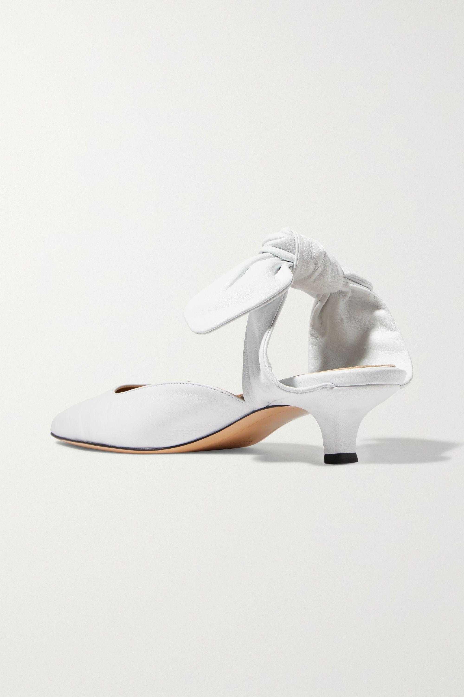 The Row Coco 皮革穆勒鞋
