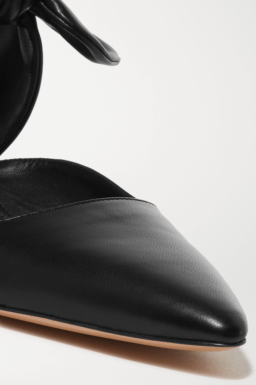 The Row Coco Mules aus Leder