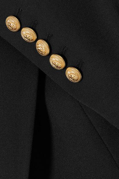 Empfehlen Rabatt Balmain Blazer aus Woll-Twill Neuesten Kollektionen Online Original Günstig Online Billig Und Schön Freies Verschiffen 2018 Neueste e89OLVNK