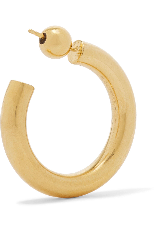 Sophie Buhai Everyday gold vermeil hoop earrings