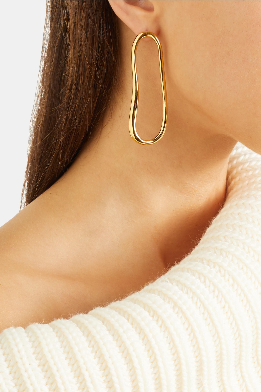 Sophie Buhai Arp gold vermeil earrings