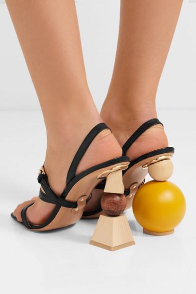da143b2c334 Jacquemus. Bahia leather sandals. £350. Zoom In