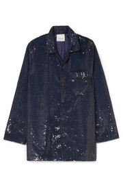 Ashish Sequined cotton shirt