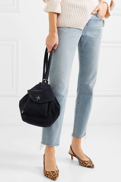 Manu Atelier Fernweh Mini Backpack From Suede
