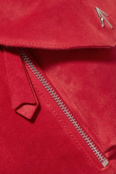 Manu Atelier Fernweh mini Rucksack aus Veloursleder mit Lederbesatz Billig Verkauf Offiziell Auslass 100% Authentisch Schnelle Lieferung Günstiger Preis 100% Garantiert Rabatt Footlocker MZmVprAl