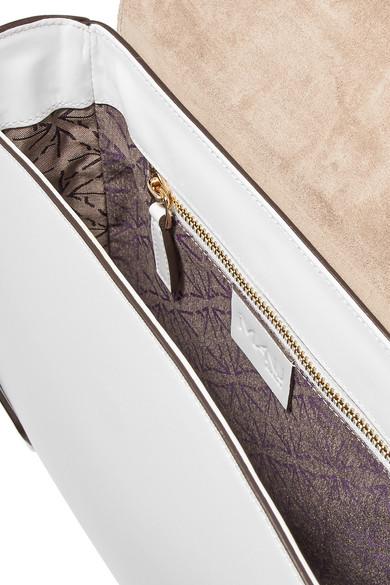 Manu Atelier Bold große Schultertasche aus Leder