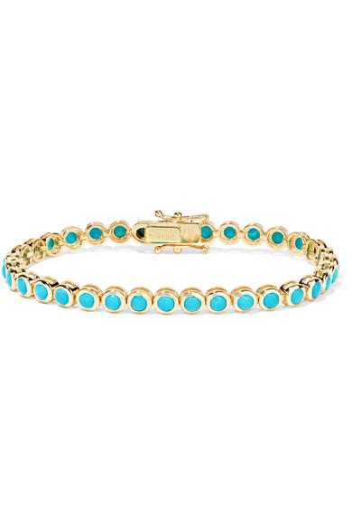 Jennifer Meyer - 18-karat Gold Turquoise Bracelet