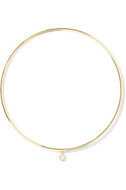 Jennifer Meyer 18-karat gold diamond bangle