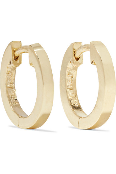 Huggy Small 18-karat Gold Hoop Earrings - one size Jennifer Meyer