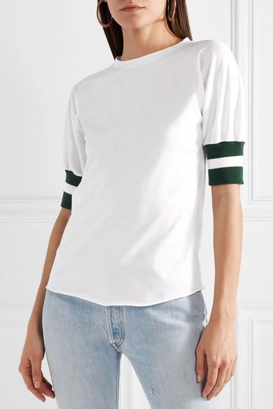 Maggie Marilyn Sunkissed gestreiftes T-Shirt aus Biobaumwoll-Jersey