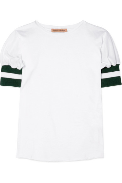 T-shirt À Rayures Marilyn Maggie Marilyn En Jersey De Coton Biologique
