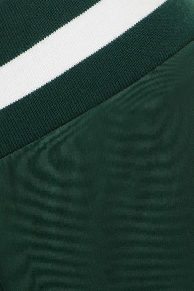 Maggie Marilyn Trailblazer Jogginghose aus glänzendem Jersey mit Streifenbesatz