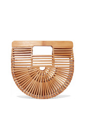 Ark mini bamboo clutch