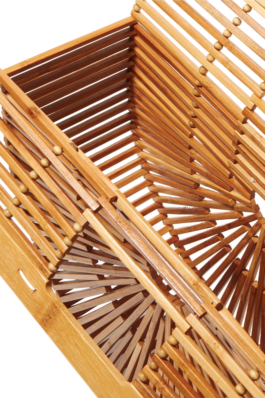 Cult Gaia Ark large bamboo clutch