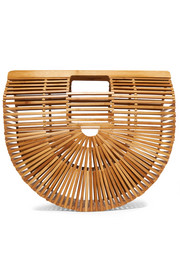 Cult Gaia Ark large bamboo clutch