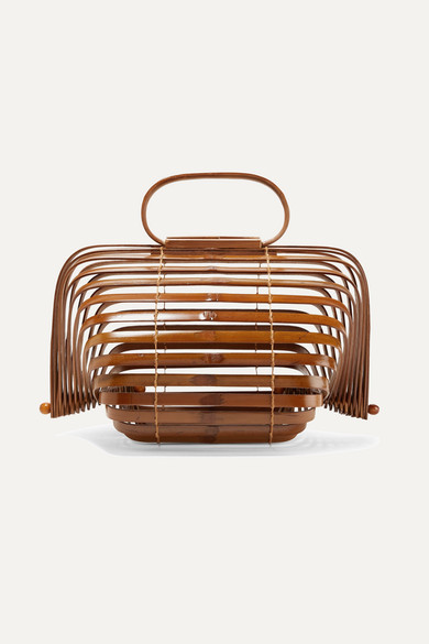 LILLETH SMALL COLLAPSIBLE BAMBOO TOTE