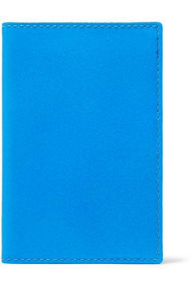 Comme des Garçons Super Fluo Kartenetui aus neonfarbenem Leder