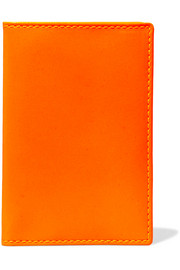 Super Fluo neon leather cardholder