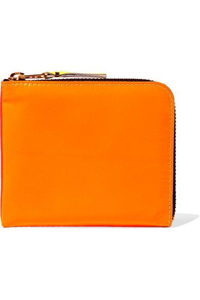 Fast Express Release Dates Cheap Price Comme des Gar?ons Fluo Pink & Orange Leather Wallet Low Shipping Online Amazing Where To Buy HBvdss66Ip
