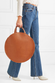 Hector leather tote