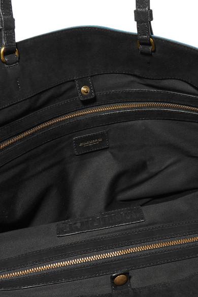 Jérôme Dreyfuss Maurice Tote aus Veloursleder mit Lederbesatz Shop Für Online Auslass Heißen Verkauf Nagelneu Unisex Zum Verkauf Exklusive Verkauf Online Hw7oLI4Dm