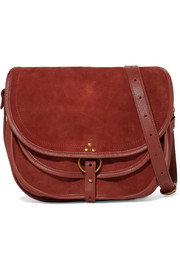 Felix large leather and suede shoulder bag