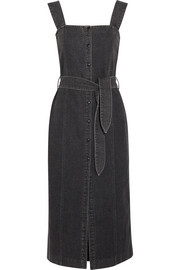 Nanushka Sally denim midi dress