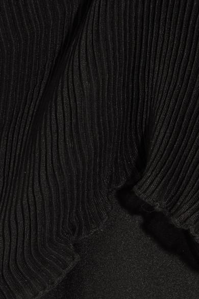 alice McCALL Lady Be Good plissiertes Top aus einer Baumwollmischung mit Rüschen