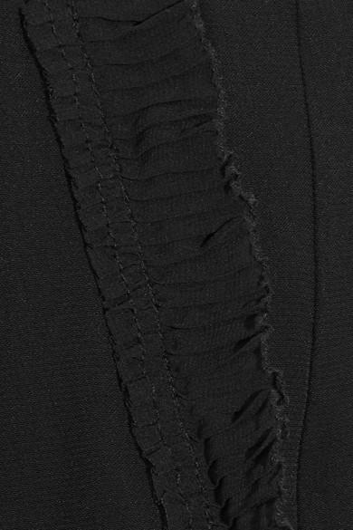 alice McCALL Under Control Karottenhose aus Crêpe mit Rüschenbesatz