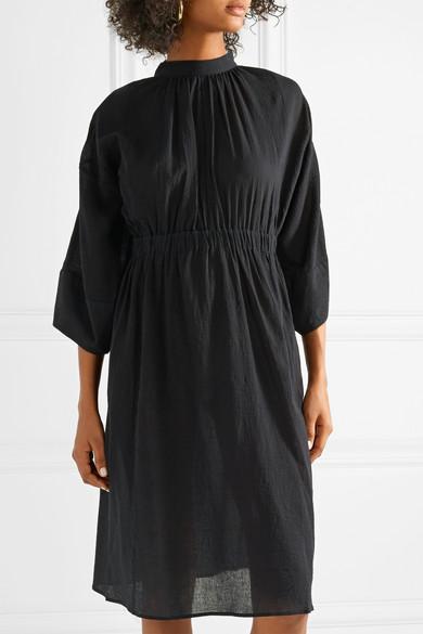 APIECE APART Aurora rückenfreies Kleid aus Baumwoll-Gaze