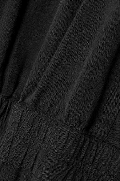 APIECE APART Archer verkürzter Jumpsuit aus Baumwolle mit freier Rückenpartie