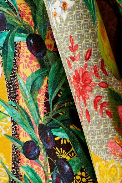 Verkauf Erschwinglich Matthew Williamson Mediterranean Medley Kimono aus bedrucktem Seidenchiffon mit Hohlsaum Schnelle Lieferung Günstig Online Outlet Kollektionen axoUTRy8u