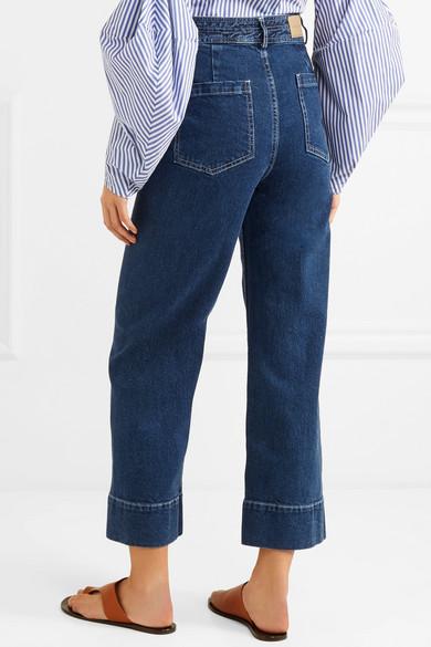 Amazonas APIECE APART Merida hoch sitzende Jeans mit weitem Bein Modestil zaxL8i