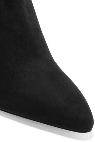 Stuart Weitzman Pure Ankle Boots aus Veloursleder