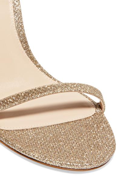 Billig Verkauf Stuart Weitzman NudistSong Sandalen aus Metallic-Mesh 2018 Neuer Online-Verkauf Günstig Kaufen Shop Ansicht Verkauf Online tVMwKB4bki
