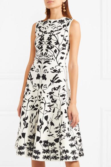 Alexander McQueen Kleid aus Stretch-Jacquard