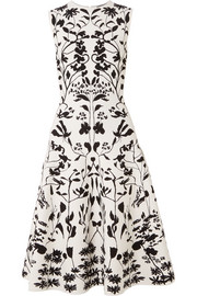 Alexander McQueen Stretch-jacquard dress