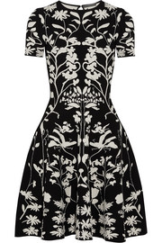 Alexander McQueen Intarsia stretch-knit dress