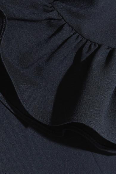 Alexander McQueen Gerüschtes Minikleid aus einer Wollmischung