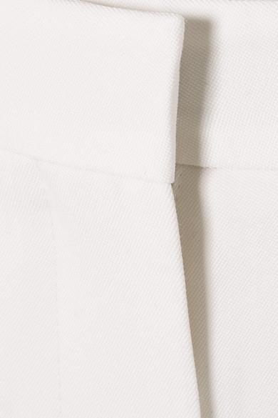 Alexander McQueen Hose mit schmalem Bein aus Grain de Poudre aus Wolle
