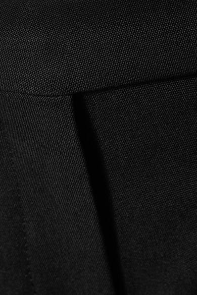 Alexander McQueen Schlaghose aus Grain de Poudre aus Wolle